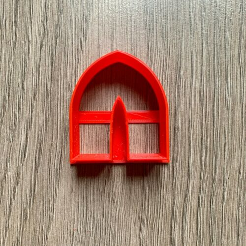 Jewellery Making Pointed Arch pendant polymer clay cutter