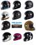 TORC-T1-Retro-Full-Face-Motorcycle-Fiberglass-Helmet-DOT-ECE-22-05 miniature 1