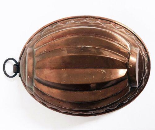 Kupfer Backform Antik Puddingform (Ku-146