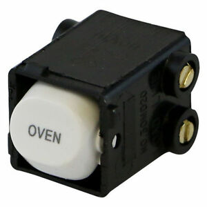 OVEN-Printed-Switch-35-Amp-Double-Pole-Switch-Mech-CLIPSAL-Compatible