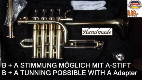 A Tromba ottavino Trompeta Piccolo Trompette Trompete hoch Bb