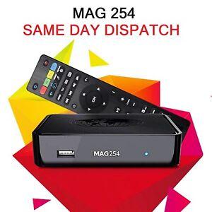 Details about MAG 254 Infomir Linux IPTV/OTT Internet TV Set Top Box Faster  Than 250 UK Seller