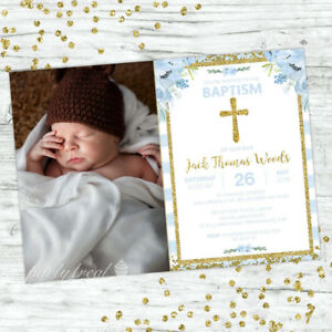 BAPTISM-INVITATIONS-INVITE-BLUE-FLORAL-CONFETTI-CHRISTENING-BOYS-PARTY-SUPPLIES