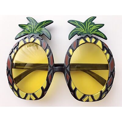 Girl Boy Kids Adult Pineapple Fruit Hawaii Eye Glasses Goggle Party Costume Prop