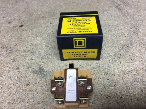 9001 Type TA Square D Contact Block