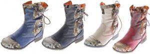 Donna-pelle-Inverno-Stivaletti-Comfort-Boots-Caviglia-Scarpe-Tma-5016-Foderato