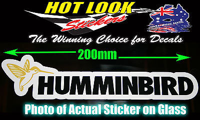 HUMMINBIRD STICKER FISHFINDER 3D GPS FISHING BOAT STICKER SUIT WINDOW BAIT