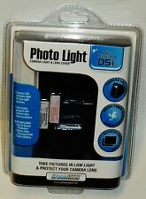 Dream Gear Photo Light, Camera Light & Lens Cover For Nitendo DSI BLACK NIP