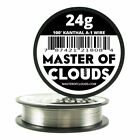 100-Feet Kanthal A1 Resistance Wire 24 AWG Gauge 100 Lengths 787421218084