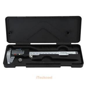 6-034-150mm-Electronique-Acier-Inoxydable-LCD-Numerique-Etrier-Vernier-Calibre