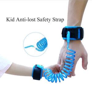 Bracelet-Anti-perte-Bebe-Enfant-Ceinture-Sangle-Reglable-Securite-Harnais-laisse