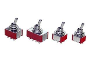 Spdt-On-Off-an-Miniatur-Kippschalter-Schalter-Gefederte-Geladen-Schalter