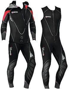 963285ffbf Mares Mens Dual 5mm Long John Combination Scuba Diving 2 Piece ...