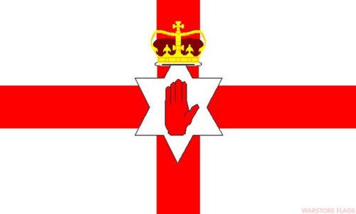 "NORTHERN IRELAND mini flag 9/"" x 6/"" 22cm x 15cm flags"
