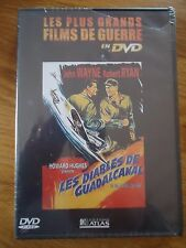 // NEUF  DVD * LES DIABLES DE GUADALCANAL * JOHN WAYNE FILM GUERRE ATLAS