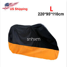 Standard Street Motorcycle L Cover Scooter Moped All Weather Dust UV Protection