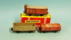 Trix-Express 3 Güterwagen 3414 + 3423 + 3420
