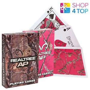 Playing Poker 2 Magic Decks Realtree Pink Made Of Camo Cards Tricks XTPOZuwki
