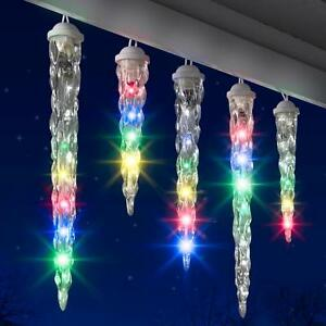 image is loading gemmy lightshow 10 shooting star multicolor led christmas