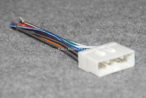 Daewoo radio wiring harness adapter for aftermarket radio