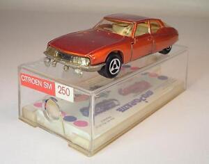 Majorette-1-65-Nr-250-Citroen-Maserati-SM-Limousine-kupfermetallic-OVP-965