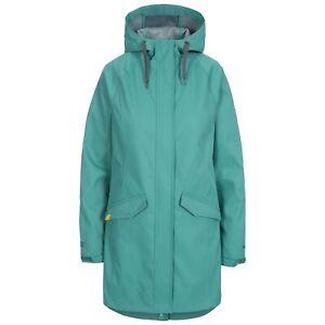 Trespass-Womens-Rain-Coat-Sofshell-Jacket-Waterproof-Longline-Coat-XXS-XXXL