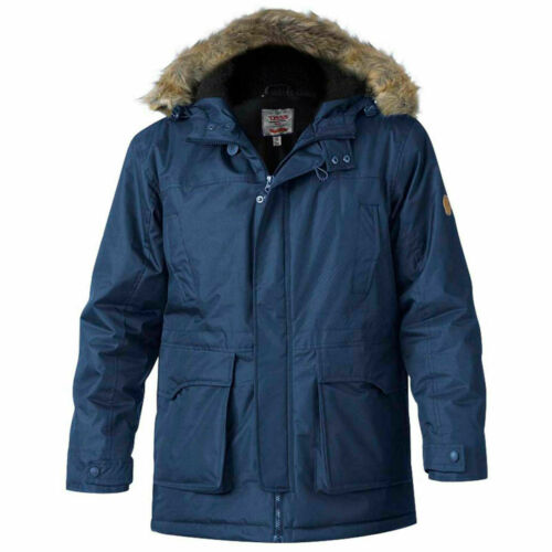 LOVETT PARKA COAT IN NAVY OR KHAKI SIZE  3XL 4XL 5XL 6XL D555