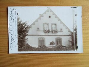 Wansen-b-Ohlau-Strehlen-Foto-AK-an-Kaplan-Schultz-Deutsch-Rasselwitz-1911