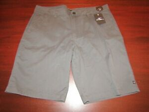 mens-O-039-Neill-redwood-stretch-shorts-38-nwt-charcoal-gray