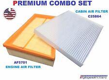 AF5701 C25864 ENGINE & CABIN AIR FILTER COMBO For 2007-2012 NISSAN Sentra 2.0L