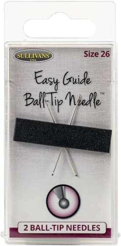 739301398706 Sullivan/'s Easy Guide Ball-Tip Needles 2//Pkg Size 26 37mm