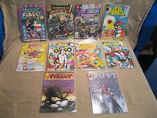 Mixed Comic Book Lot of 10 American Flagg Rust E-man Brigade Tyrant #1's     ff