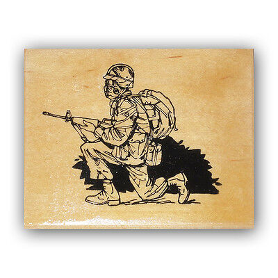 CMS #4 LIBERTY mounted rubber stamp freedom patriotic military