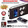 8GB Digital Diktiergerät Aufnahmegerät Audio Voice Recorder MP3 Player Geschenk
