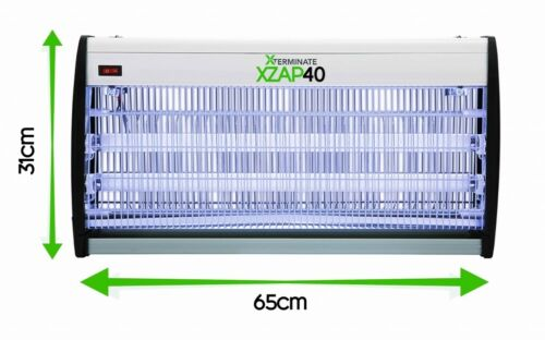 ELECTRIC INSECT FLY KILLER ZAPPER UV PEST 43W BUG CONTROL FLIES TRAP XTERMINATE