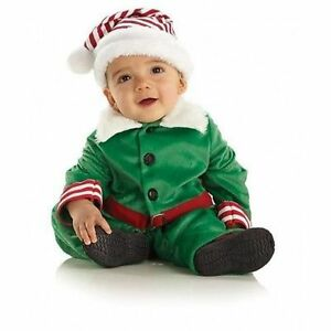 ed37bf77129e Underwraps Elf Holiday Santa Claus Christmas Xmas Toddler Baby ...