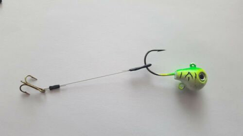 Stinger Trailer hooks Qty 10 Size 8 Mustad treble 2 inch