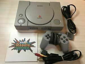 Playstation 1 Original Console Bundle SCPH-7501 Sony PS1 - Tested and Works