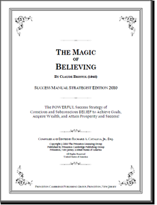 The Magic Of Believing By Claude M Bristol Pdf Ebay
