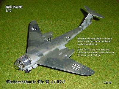 Messerschmitt Me P.1107/I   1/72 Resinbausatz Bird Models neu
