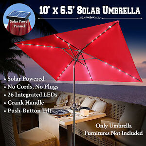 Image Is Loading 10 039 X6 5 039 Solar Powered Patio