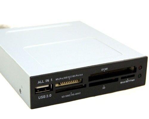 """BYTECC U2CR-318//HUB 6 slots All-in-1 internal 3.5/"""" Card Reader"""