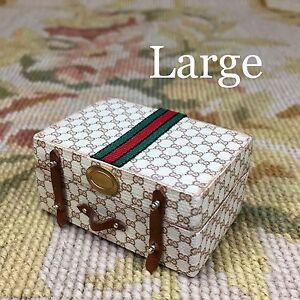 Pat Tyler Dollhouse Miniature Bag Luggage Suitcase Satchel Valise Grip Large