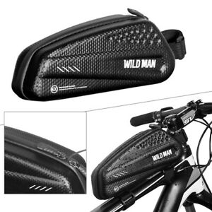 WILDMAN-Road-MTB-Mountain-Bike-Front-Frame-Bag-Waterproof-Top-Tube-Cycling-Bag