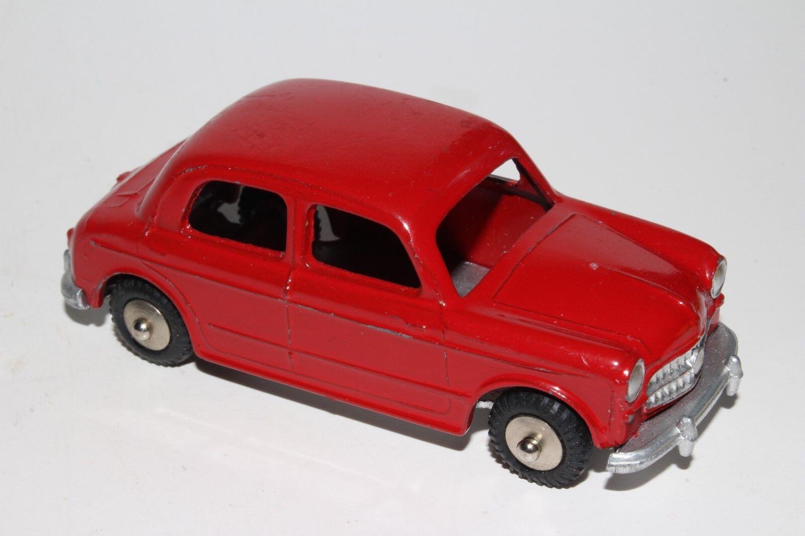 Mercury 1958 Fiat Nuova 1100 Berline, Rouge, Original