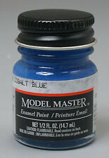 Testors Model Master Cobalt Blue 1/2 oz Enamel Paint 2012 TES2012