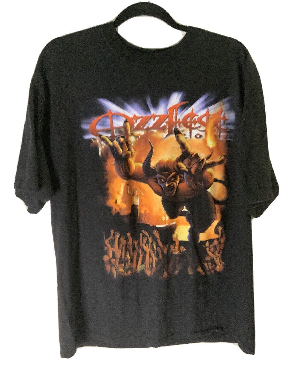 Vintage Ozzfest 2002 T-Shirt Size XL Ozzy Osbourn… - image 1