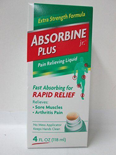 Absorbine Jr. Plus Extra Fuerza Alivio de Dolor Líquido 118ml