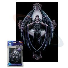 Max Protection 60 Not MTG Small Card Sleeves Deck Protector Dark Angel  Max Prot