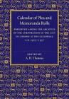 Calendar of Plea and Memoranda Rolls: A.D. 1413-1437 by Cambridge University Press (Paperback, 2015)